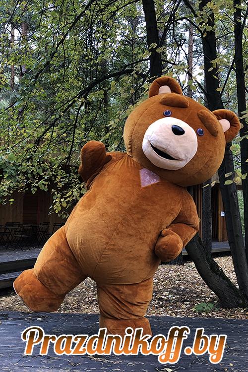 """Аниматор, ростовая кукла """"Медведь Тед"""" 2,7м"""