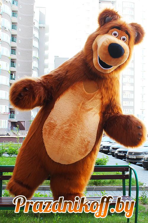 Аниматор нашин медведь из мультика