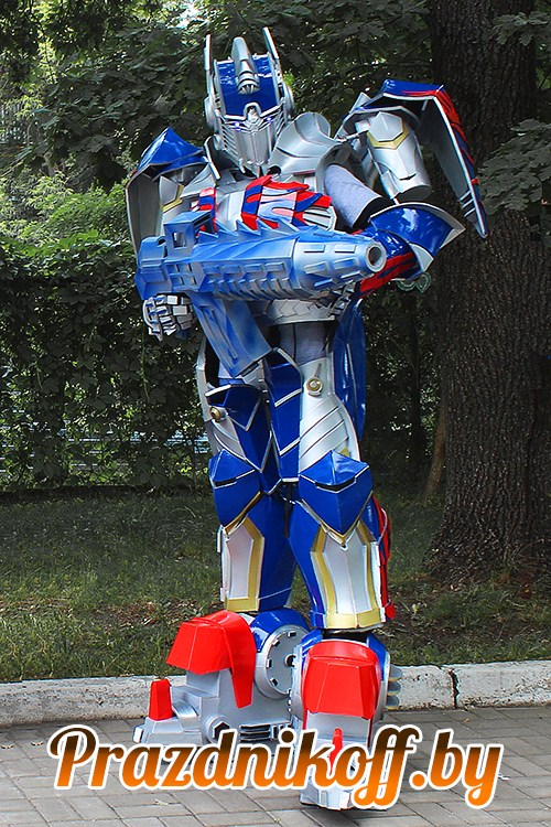 """Аниматор, робот """"Трансформер Оптимус прайм"""""""