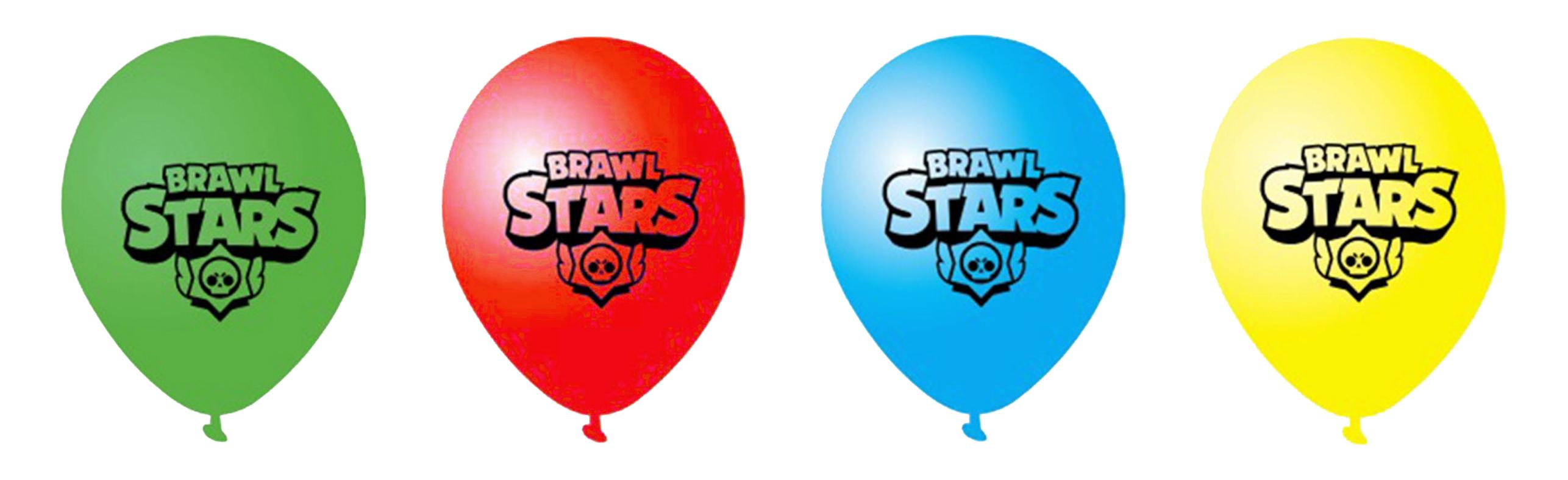 Воздушные шарики Brawl Stars купить в Минске
