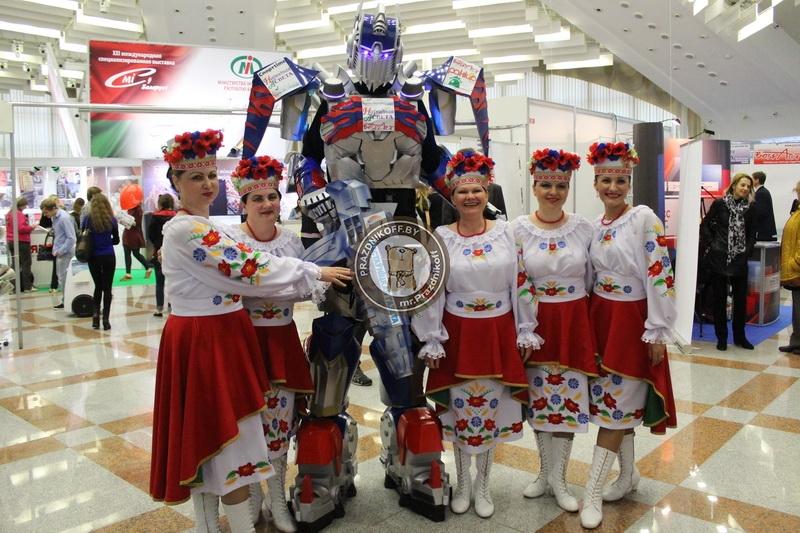 роботы трансформеры выставка сми
