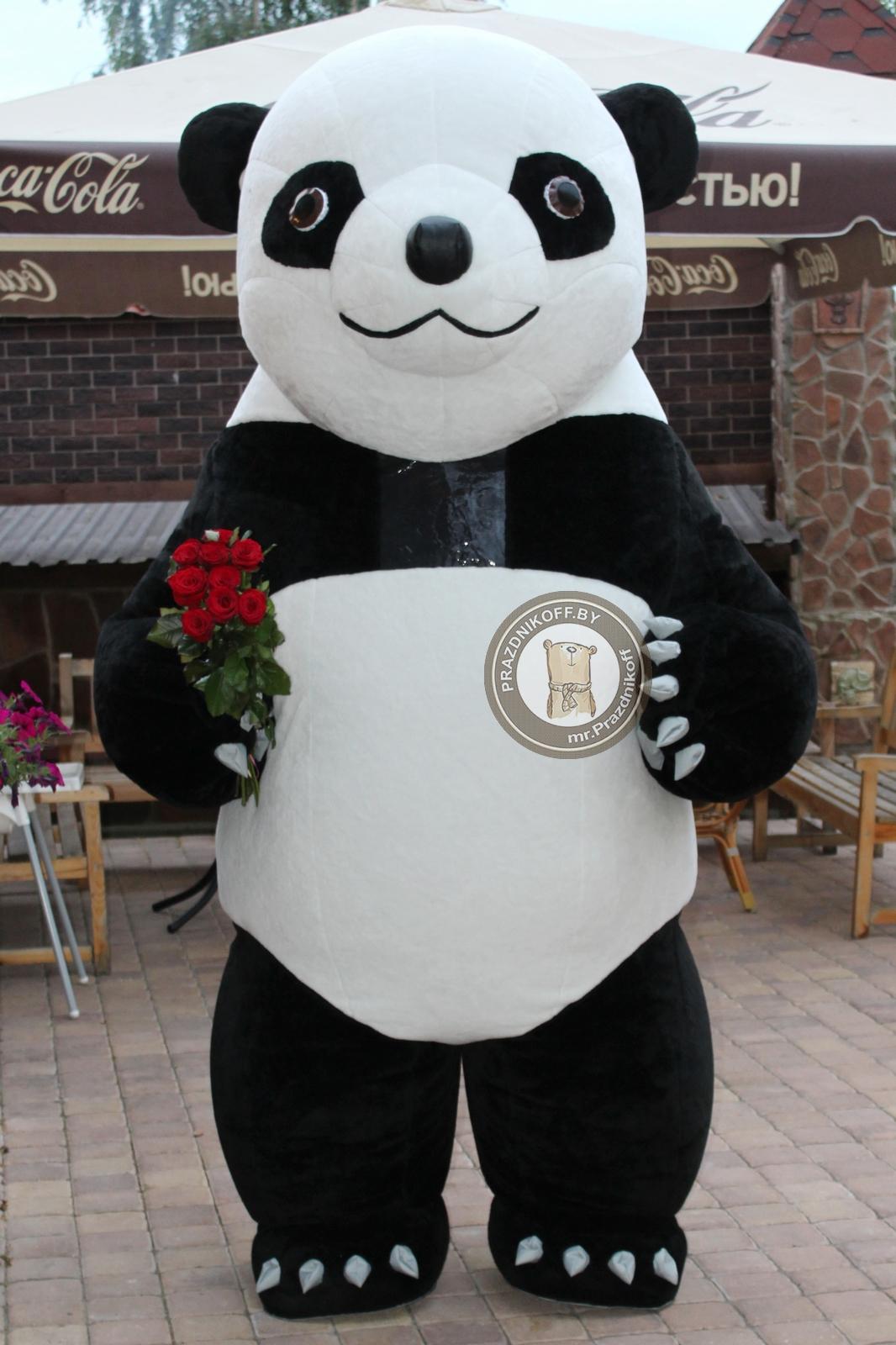 Ростовая кукла Панда трехметровая