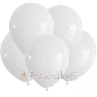Белые шары с гелием купить в Минске