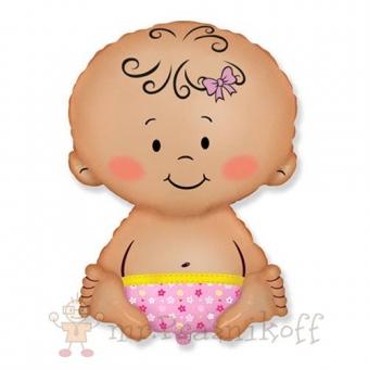Шар Малышка девочка
