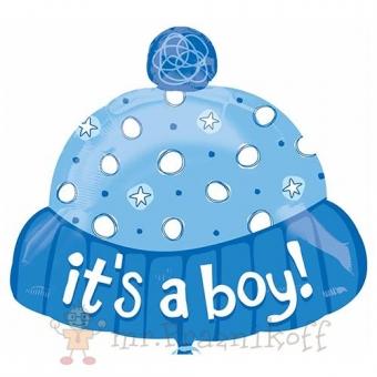 шары, шарики, на встречу, выписку, из роддома. шапочка для мальчика