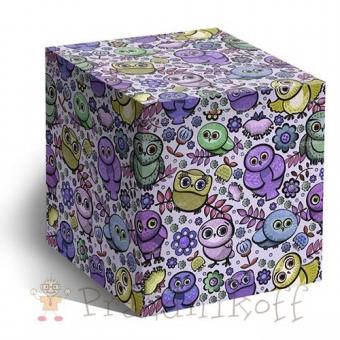 """Коробка """"Совушки"""" для кружки"""