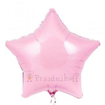 Купить Шар Звезда Розовый с доставкой в Минске