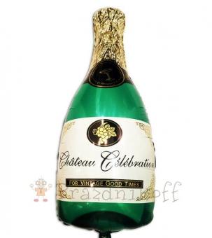 Шар Фигура, Бутылка шампанского