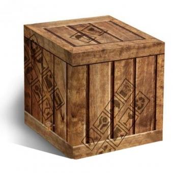 """Подарочная упаковка для кружи """"Ящик"""""""