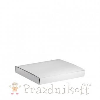 Подарочная коробка для футболки белая
