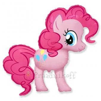 """Фольгированный шар фигура """"Милая пони Пинки Пай"""""""